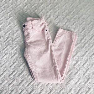 🌊Crazy 8 Skinny Jeans Pink Girls Size 7